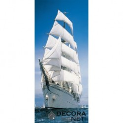Mural FLORAL AND WELLNESS 2-1017 Sailing Boat