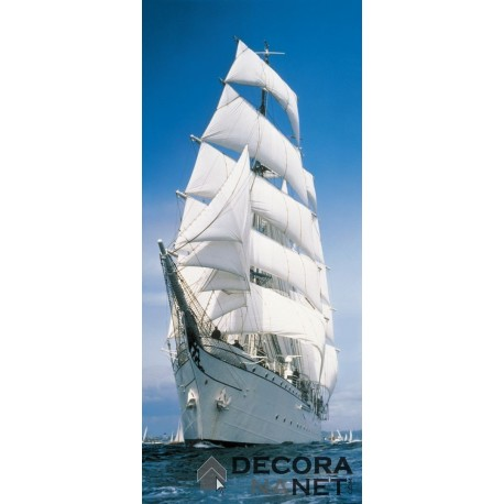 Fotomural FLORAL AND WELLNESS 2-1017 Sailing Boat