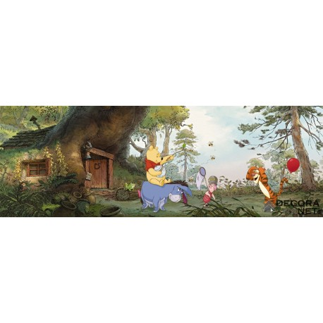 Mural DISNEY by KOMAR 4-413 Pooh's House