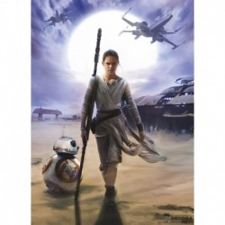 Fotomural STAR WARS by KOMAR 4-448 Star Wars Rey