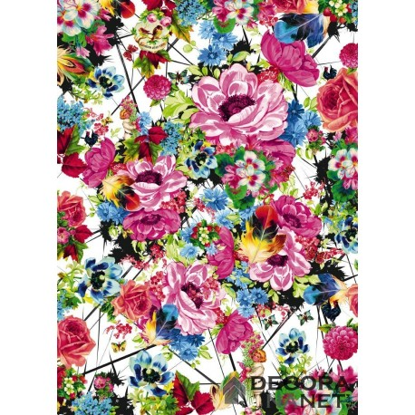 Mural FLORAL AND WELLNESS 4-749 Romantic Pop