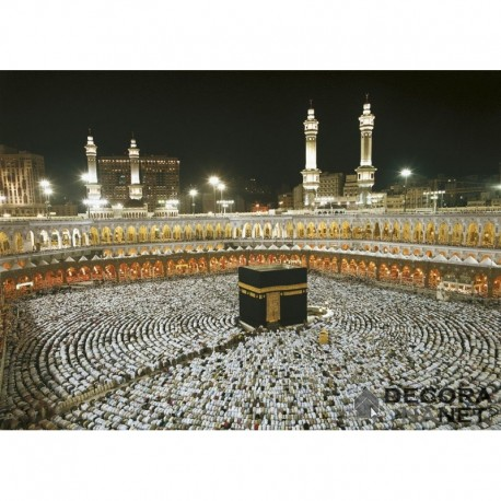 Fotomural GALLERY 8-110 Kaaba At Night
