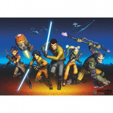 Fotomural STAR WARS by KOMAR 8-486 Star Wars Rebels Run