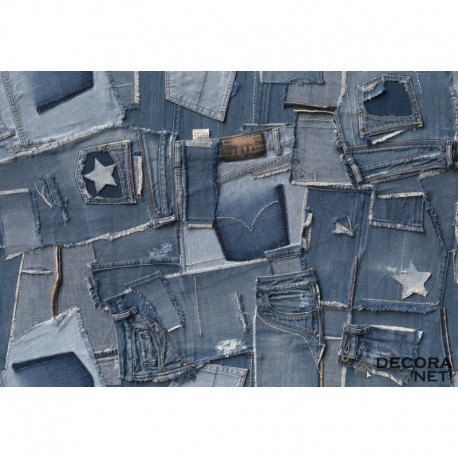 Mural TEXTURES 8-909 Jeans