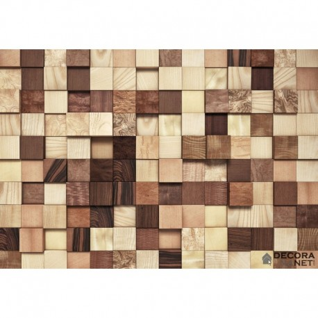 Mural WOOD AND STONES 8-978 Lumbercheck