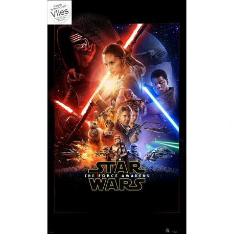 Mural STAR WARS by KOMAR VD-046 Star Wars Ep7 Official Movie Poster