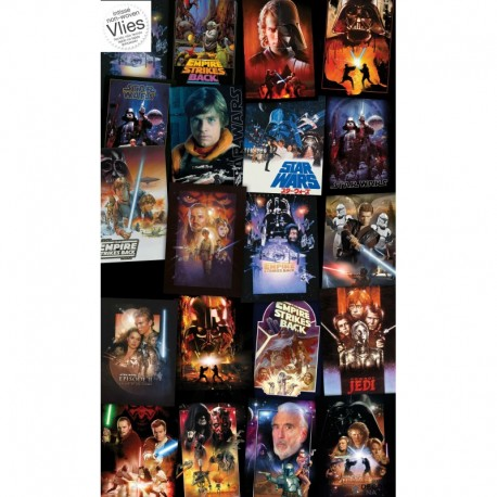 Fotomural STAR WARS by KOMAR VD-048 Star Wars Posters Collage