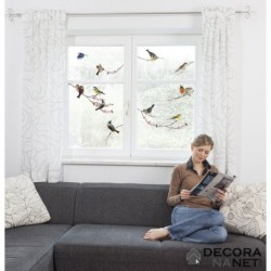 Window Sticker LANDSCAPE 16003 Birds