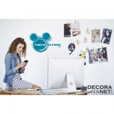 Wall Sticker DISNEY by KOMAR 14012 It's Kind Of Fun