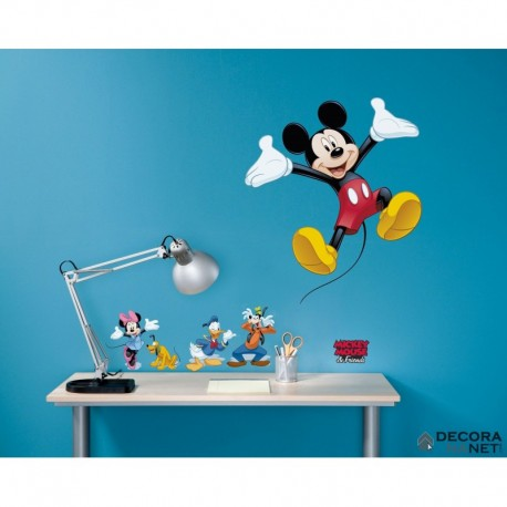 Wall Sticker DISNEY by KOMAR 14017 Mickey And Friends
