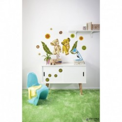 Wall Sticker DISNEY by KOMAR 14040 Simba And Nala