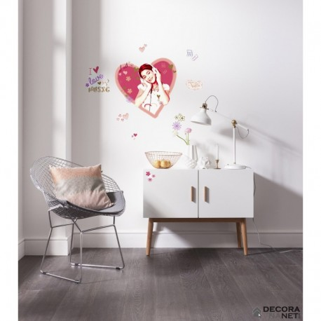 Wall Sticker DISNEY by KOMAR 14044 Violetta