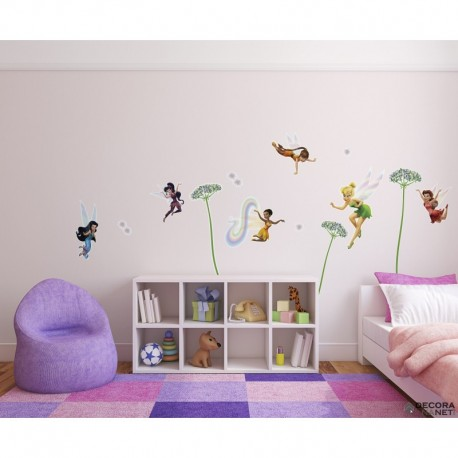 Wall Sticker DISNEY by KOMAR 14049 Fairies