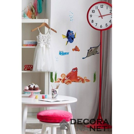 Wall Sticker DISNEY by KOMAR 14051 Dory And Friends