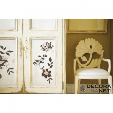 Wall Sticker FLORAL AND WELLNESS 17030 Jackie