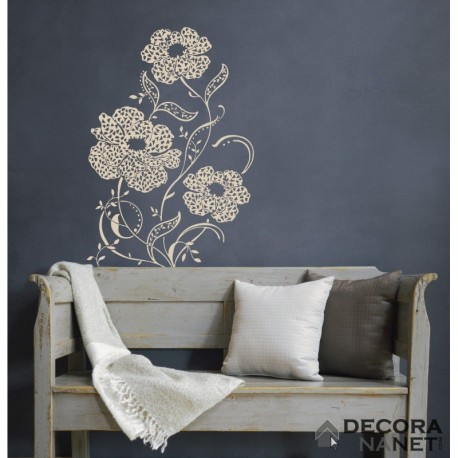 Wall Sticker FLORAL AND WELLNESS 17715 Amelie