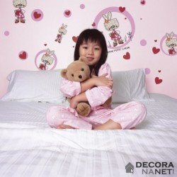 Wall Sticker KIDS by KOMAR 17000 Mon Petit Coeur