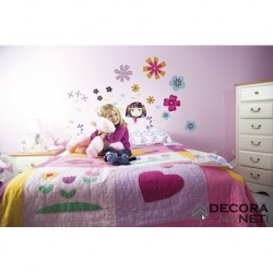 Wall Sticker KIDS by KOMAR 17002 Flowerine