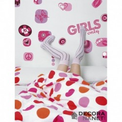 Wall Sticker KIDS by KOMAR 17006 Girls Only