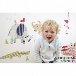 Wall Sticker KIDS by KOMAR 17026 Safari