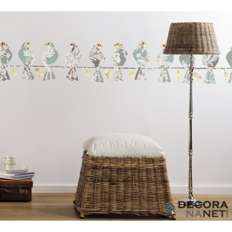 Wall Sticker LANDSCAPE 17025 Doves