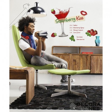 Wall Sticker STILL LIFE 17711 Strawberry Kiss