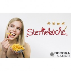 Wall Sticker WORDS 17047 Sternekuche