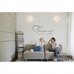 Wall Sticker WORDS 17706 Freundschaft