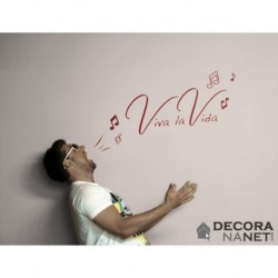 Wall Sticker WORDS 17709 Viva La Vida