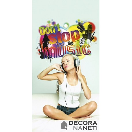 Wall Sticker WORDS 17721 Dont Stop The Music