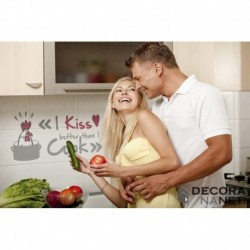 Wall Sticker WORDS 17801 I Kiss Better Than