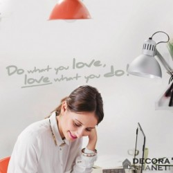 Wall Sticker WORDS 18003 Do What You Love