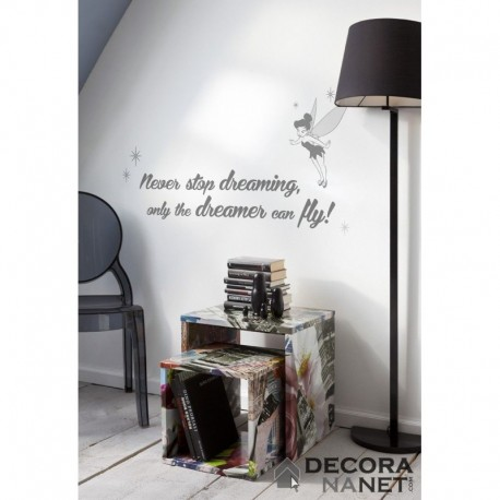 Wall Sticker WORDS DISNEY by KOMAR 14001 Never Stop Dreaming