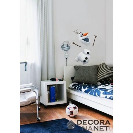 Wall Sticker DISNEY by KOMAR 14045 Frozen Olaf
