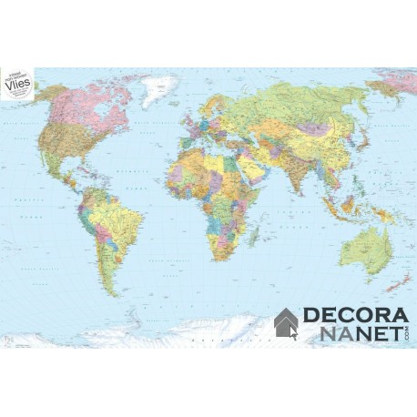 Fotomural LANDSCAPE XXL4-038 World Map