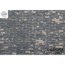 Fotomural WOOD AND STONES XXL4-067 Painted Bricks