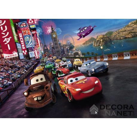 Fotomural DISNEY by KOMAR 4-401 Cars Race