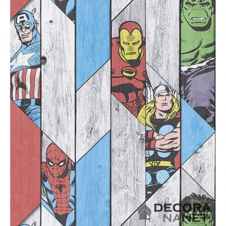Papel de Parede KIDS@HOME INDIVIDUAL MARVEL by GRAHAM & BROWN 102435